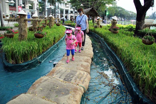 """Hồn quê xuất hiện tại """"khu nhà giàu"""" ở Sài Gòn ngày giáp Tết - 12"""