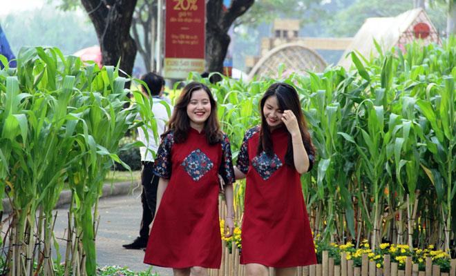 """Hồn quê xuất hiện tại """"khu nhà giàu"""" ở Sài Gòn ngày giáp Tết - 13"""