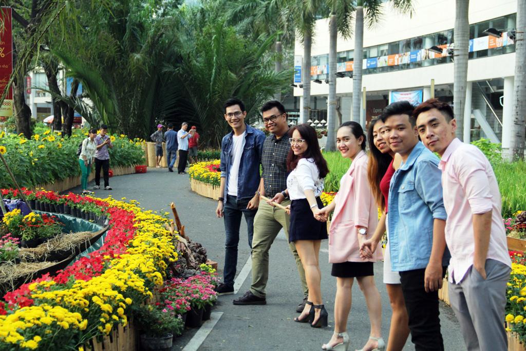 """Hồn quê xuất hiện tại """"khu nhà giàu"""" ở Sài Gòn ngày giáp Tết - 14"""