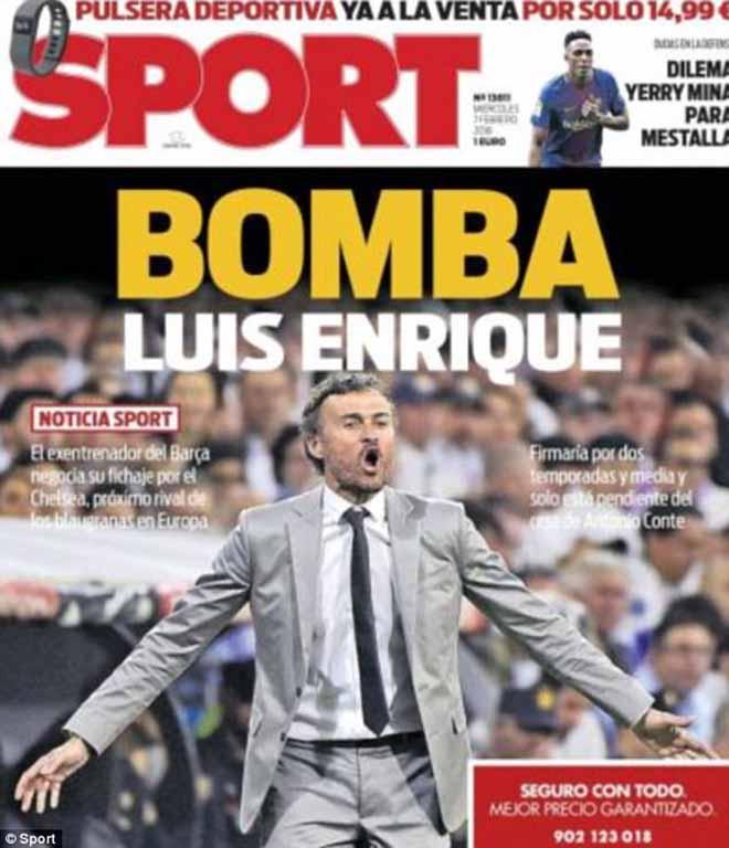 Chelsea tính thế Conte bằng Enrique: Chờ bóng đá đẹp, Messi-Barca lo sợ? 2