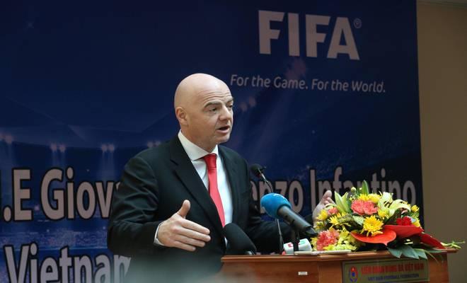 Chủ tịch FIFA nói Việt Nam có cơ hội dự World Cup, đưa ra 3 lời khuyên - 1