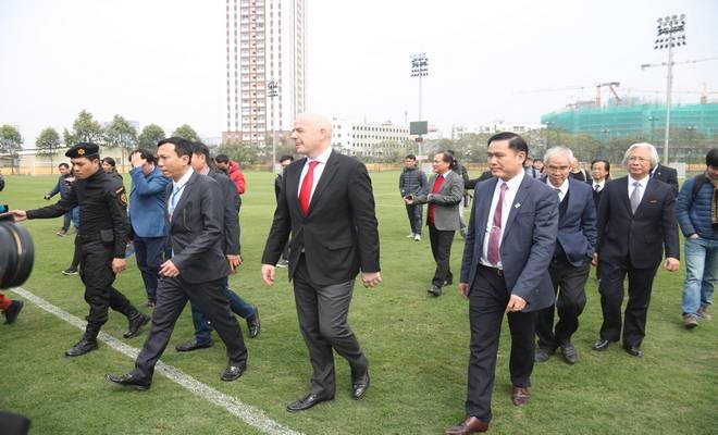 Chủ tịch FIFA nói Việt Nam có cơ hội dự World Cup, đưa ra 3 lời khuyên - 2