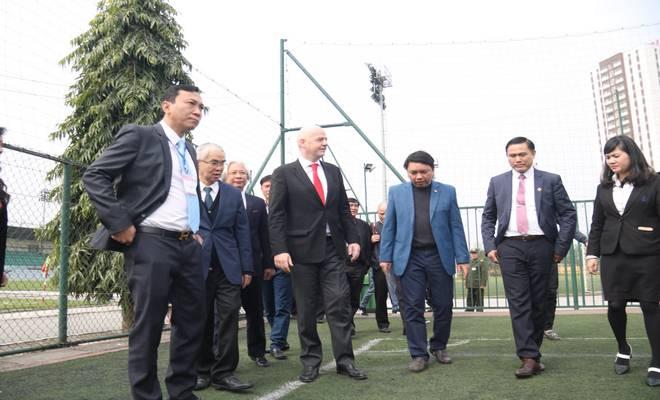Chủ tịch FIFA nói Việt Nam có cơ hội dự World Cup, đưa ra 3 lời khuyên - 4