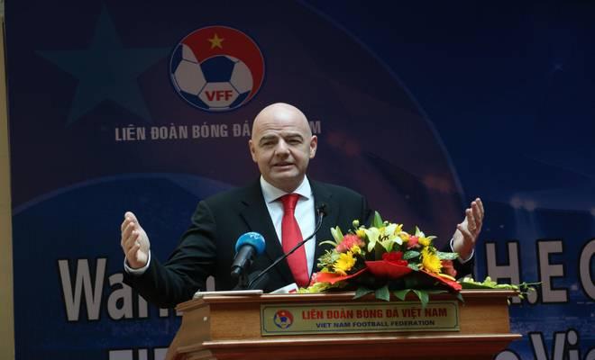 Chủ tịch FIFA nói Việt Nam có cơ hội dự World Cup, đưa ra 3 lời khuyên - 8