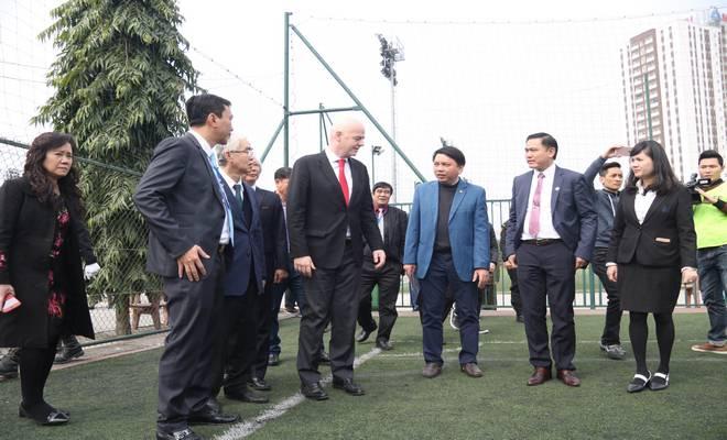 Chủ tịch FIFA nói Việt Nam có cơ hội dự World Cup, đưa ra 3 lời khuyên - 10