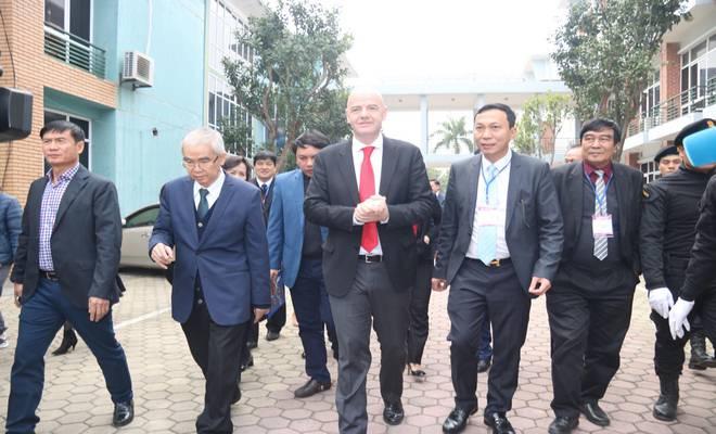 Chủ tịch FIFA nói Việt Nam có cơ hội dự World Cup, đưa ra 3 lời khuyên - 11
