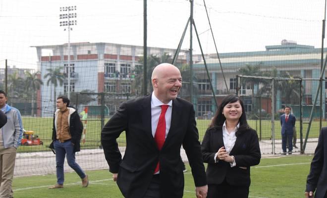 Chủ tịch FIFA nói Việt Nam có cơ hội dự World Cup, đưa ra 3 lời khuyên - 12