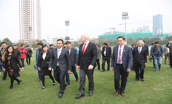 Chủ tịch FIFA nói Việt Nam có cơ hội dự World Cup, đưa ra 3 lời khuyên - 13