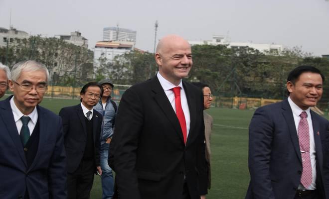 Chủ tịch FIFA nói Việt Nam có cơ hội dự World Cup, đưa ra 3 lời khuyên - 14
