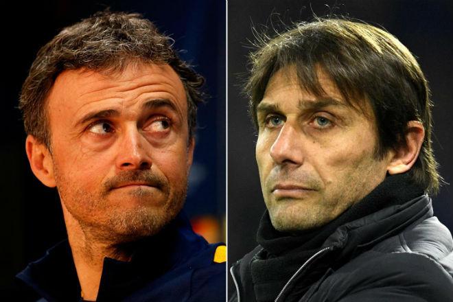 Conte nghi bị học trò Chelsea phản: Rộ tin Enrique lên thay đấu Barca - 1