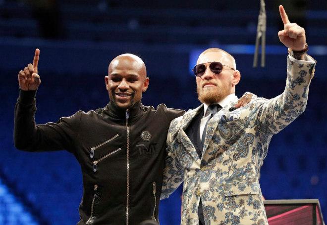 """Kinh điển McGregor – Mayweather lượt về: 500 triệu USD """"sập sàn"""" MMA 1"""