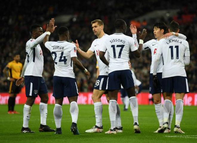 Tottenham 2-0 Newport County(đá lại ở vòng 4 cúp FA - 2017/18)
