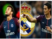 """Bóng đá - Real đấu PSG cúp C1: """"Xem giò"""" Neymar, Cavani cũng """"chào hàng"""""""