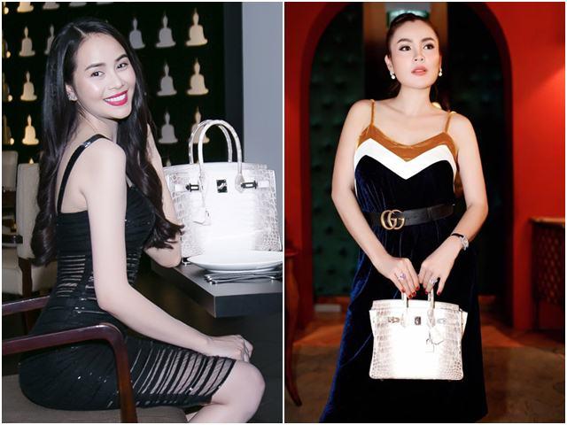 Chiếc túi Hermes vài tỷ đồng được nhiều mỹ nhân Việt mê mẩn