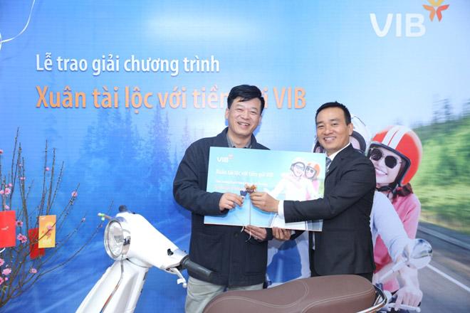 VIB công bố gần 300 khách hàng gửi tiết kiệm trúng thưởng đợt 1 - 2