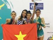 """Thể thao - """"Búp bê"""" trẻ của thể dục Việt Nam: Chinh phục Đông Nam Á, mơ bay xa"""