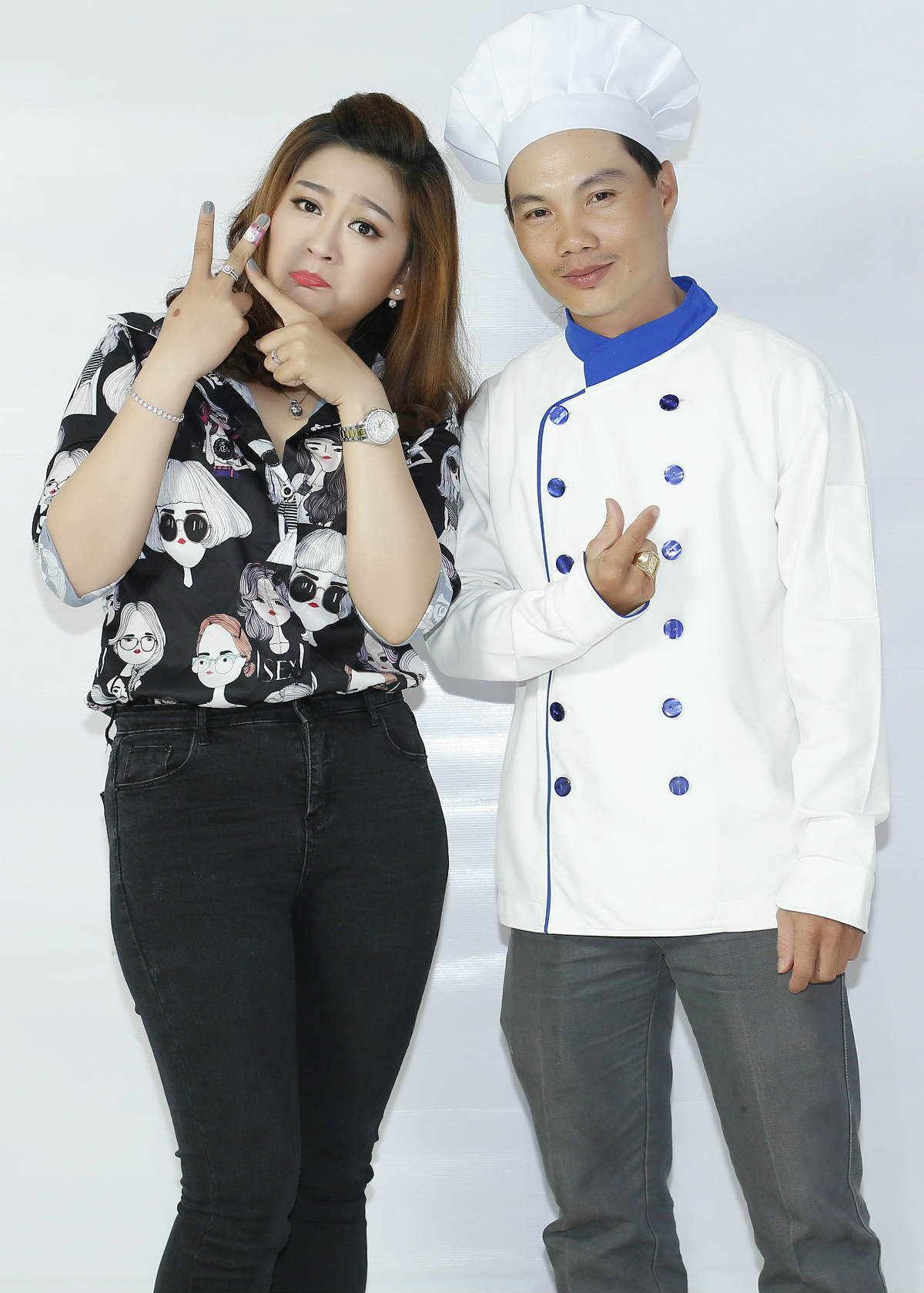 Con gái Kim Tử Long tiết lộ gây sốc về tài nấu nướng - 2