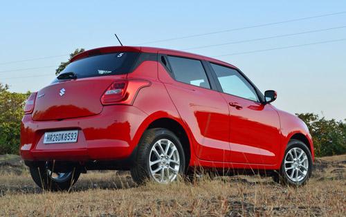 """""""Xế đỏm"""" Suzuki Swift 2018 ra mắt 12 phiên bản, giá từ 176 triệu đồng - 8"""