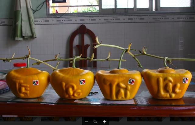 40 cặp dưa hấu thỏi vàng, giá cực khủng của lão nông miền Tây - 2
