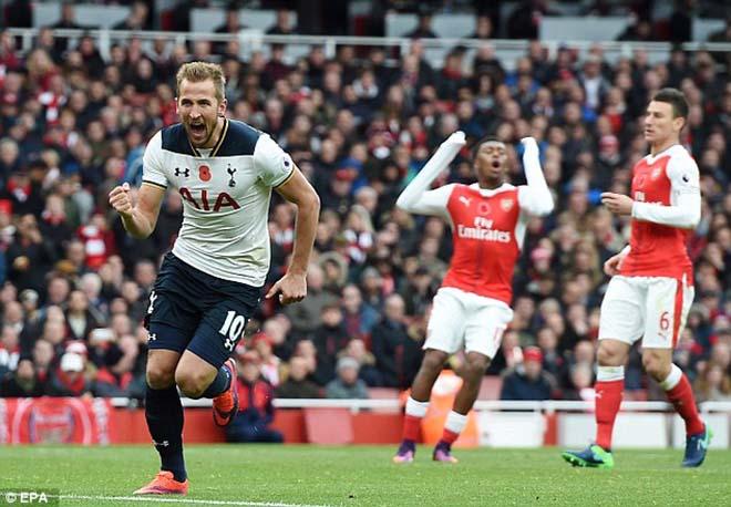 Harry Kane so tài săn bàn Aubameyang: Derby Bắc London của Vua phá lưới 1
