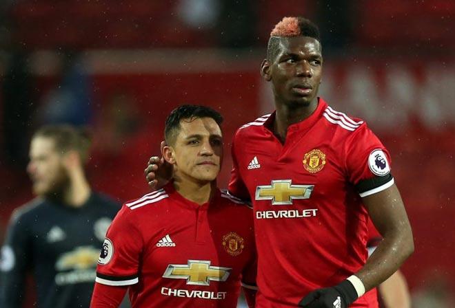 """Sanchez nâng tầm MU: Mourinho """"thổi"""" Pogba lên số 1 thế giới 1"""