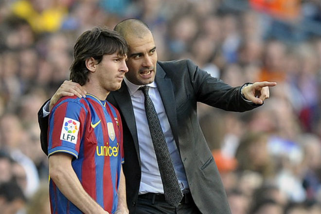 Barca mơ xưng vương cúp C1: Messi vẫn sợ thầy cũ Pep, lo PSG báo thù - 2