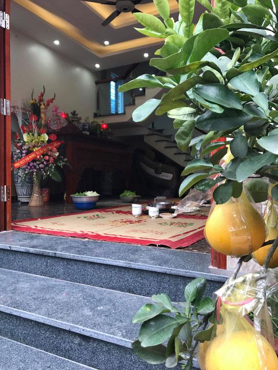 Gia đình Xuân Trường, Quang Hải tưng bừng đón Tết