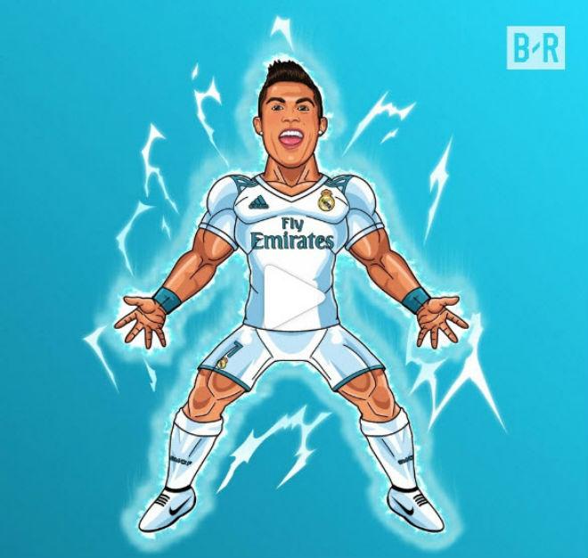 """Hoàng đế Ronaldo: Bùng nổ """"siêu hat-trick"""", La Liga quỳ rạp - 7"""