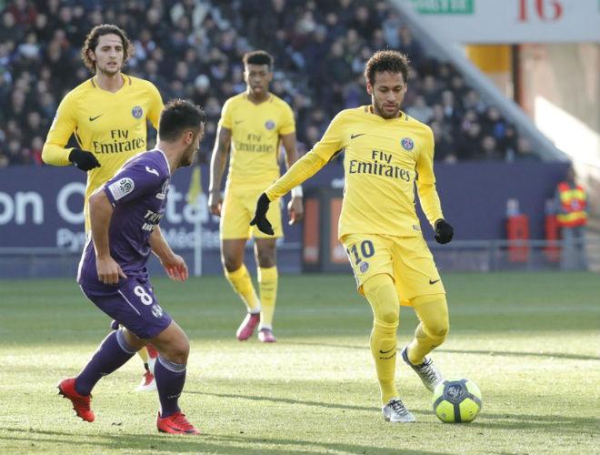 Toulouse - PSG: Đẳng cấp Neymar, solo tuyệt đỉnh - 1