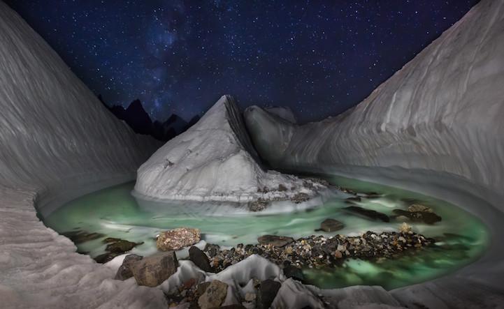 """""""Phát sốt"""" với hồ băng tuyệt đẹp ẩn sâu trong dãy Himalaya - 1"""