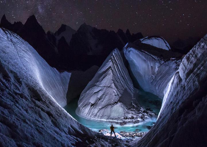 """""""Phát sốt"""" với hồ băng tuyệt đẹp ẩn sâu trong dãy Himalaya - 2"""