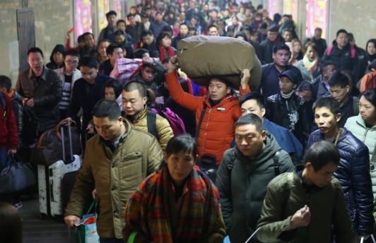 """Hàng triệu người Trung Quốc không """"thèm"""" về quê ăn Tết - 2"""