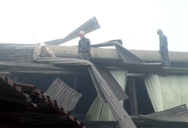 Hà Nội: Nhà máy thép nổ như bom sáng 27 Tết