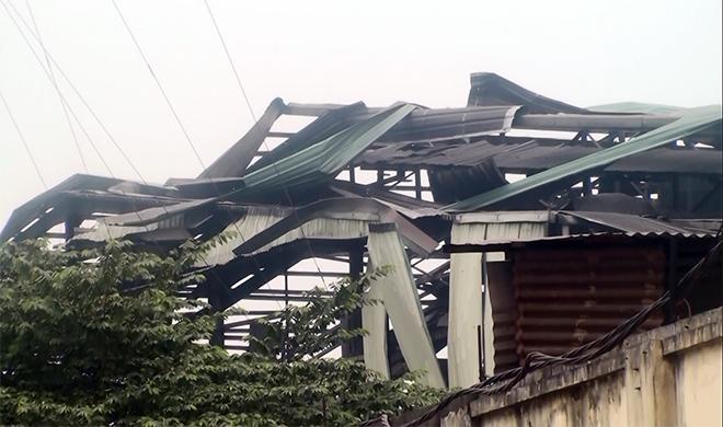Hà Nội: Nổ lớn tại nhà máy thép sáng 27 Tết - 2
