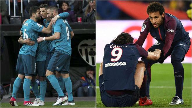 Trước vòng 1/8 cúp C1: Real hoang mang đấu PSG, người Anh lo cho MU