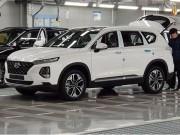 Tư vấn - Lộ ảnh thực tế Hyundai SantaFe 2019 tại Hàn Quốc