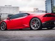Tin tức ô tô - Lamborghini Huracan khác lạ với lớp sơn Rosso Corsa