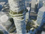 Tài chính - Bất động sản - Dự án tòa nhà cao nhất TPHCM hình ruộng bậc thang xuất hiện trên báo Anh