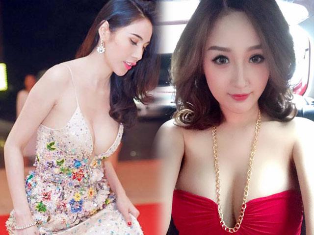 Thót tim với váy khoe vòng 1 của Mai Phương Thúy và sao Việt