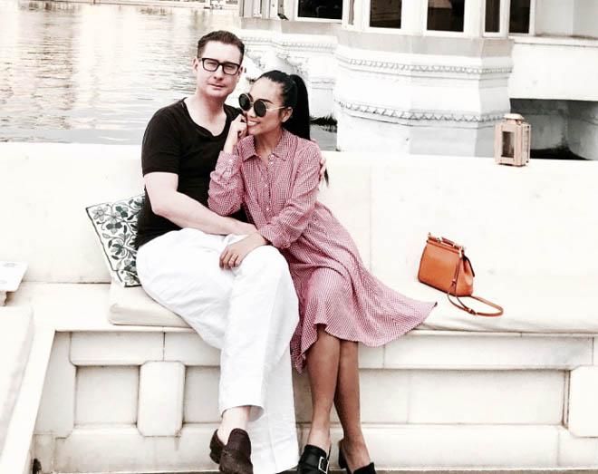 Vợ chồng Đoan Trang đón lễ tình nhân xa hoa tại Ấn Độ - 2