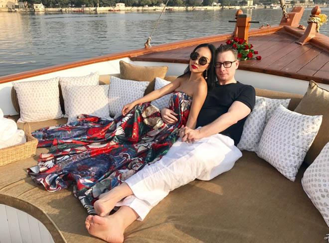 Vợ chồng Đoan Trang đón lễ tình nhân xa hoa tại Ấn Độ - 6