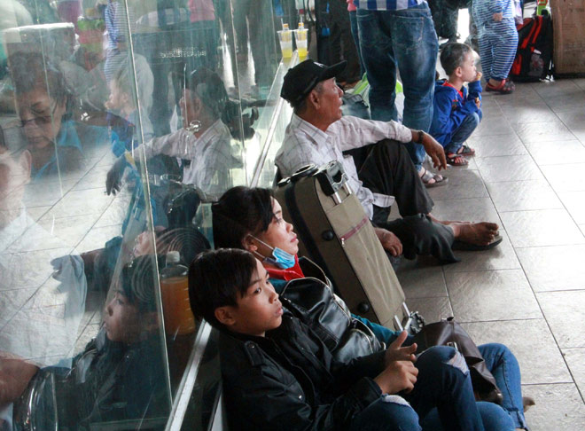 Người miền Tây rồng rắn rời Sài Gòn về quê đón Tết - 9
