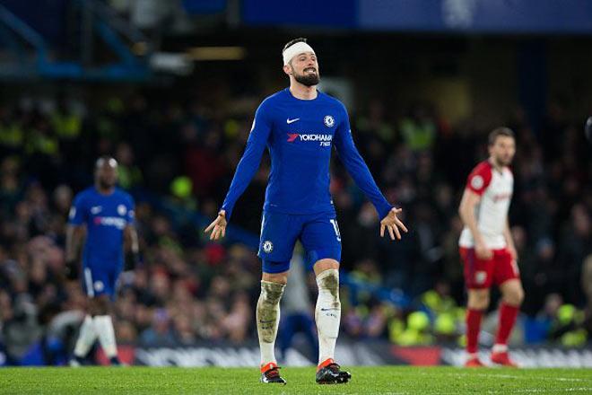 Giroud hóa chiến binh ở Chelsea: Ngon hơn Morata 75 triệu bảng 10