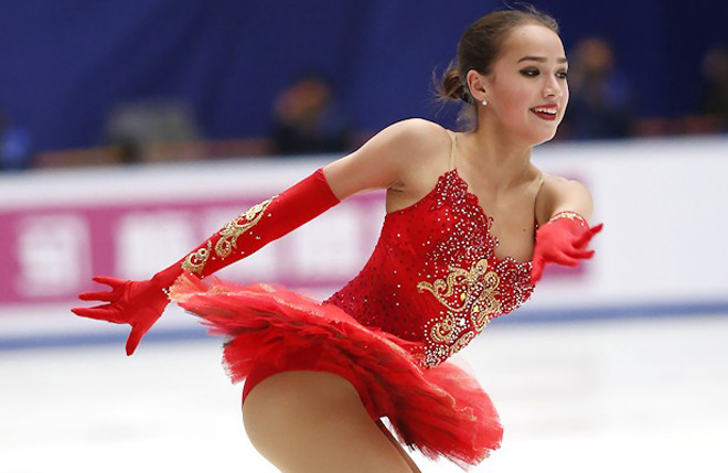 """""""Nữ thần"""" sắc đẹp 15 tuổi giật HCB, làm """"điêu đứng"""" Olympic mùa đông 2018 2"""