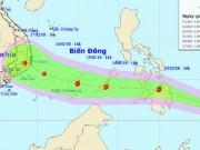 Tin tức trong ngày - Bão Sanba đang di chuyển nhanh vào Biển Đông