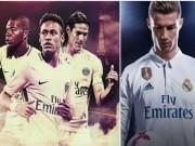 Bóng đá - Đội hình trong mơ Real-PSG xưng bá châu Âu: Neymar cướp chỗ Ronaldo