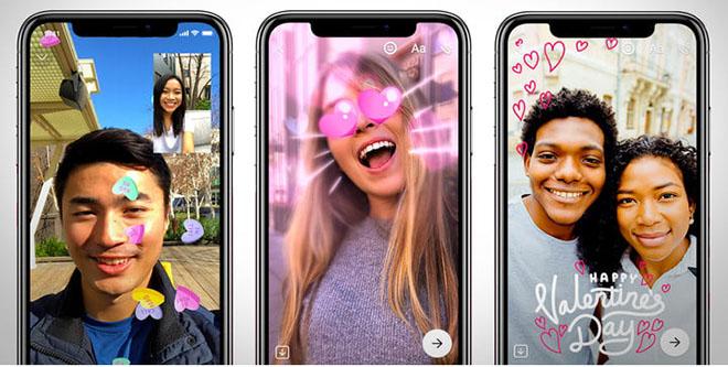 Facebook quảng bá Messenger là nơi hẹn hò cho tình nhân ngày Valentine - 1