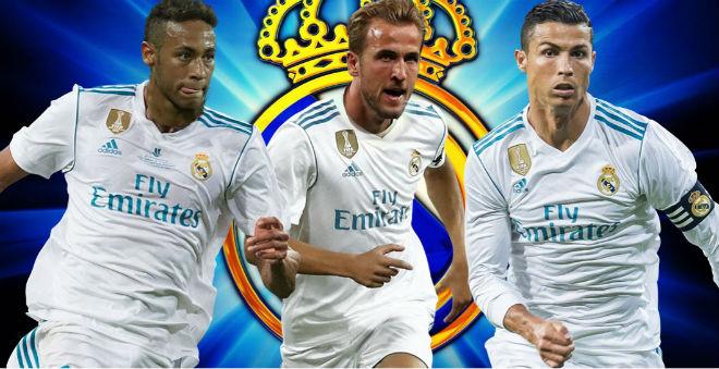 """Kane khuấy đảo châu Âu: Real chi 300 triệu euro, làm mồi """"câu"""" Neymar 2"""
