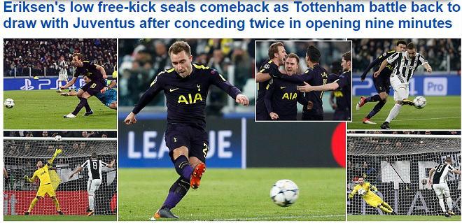 Man City, Tottenham rực rỡ: Báo chí Anh nổ vang, khen hay nhất châu Âu 3