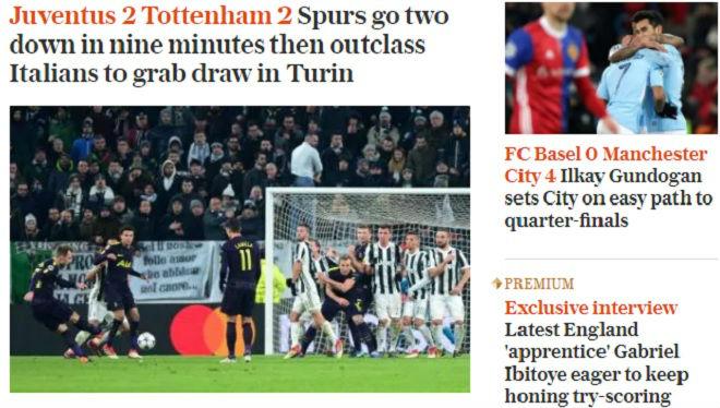 Man City, Tottenham rực rỡ: Báo chí Anh nổ vang, khen hay nhất châu Âu 4